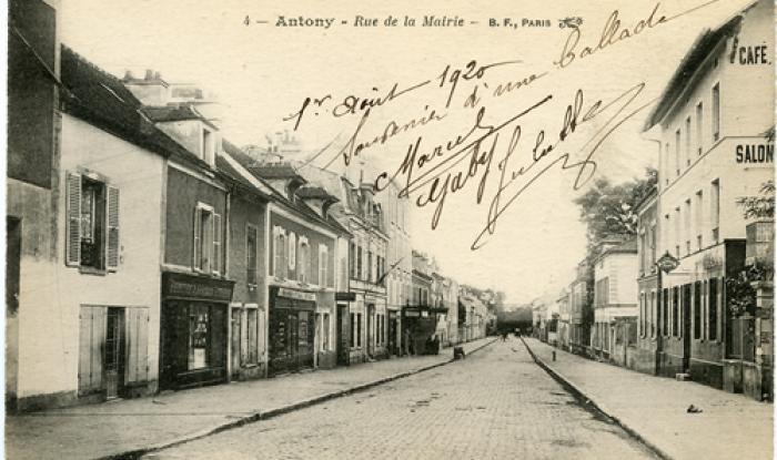 R de la Mairie N 36 peinture vitrerie à gauche