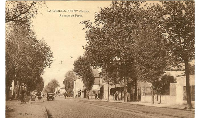 croix de berny direction paris vers 1930