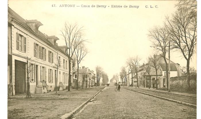 entree parc de berny direction paris 1910