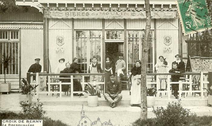La Grenouillere en 1913