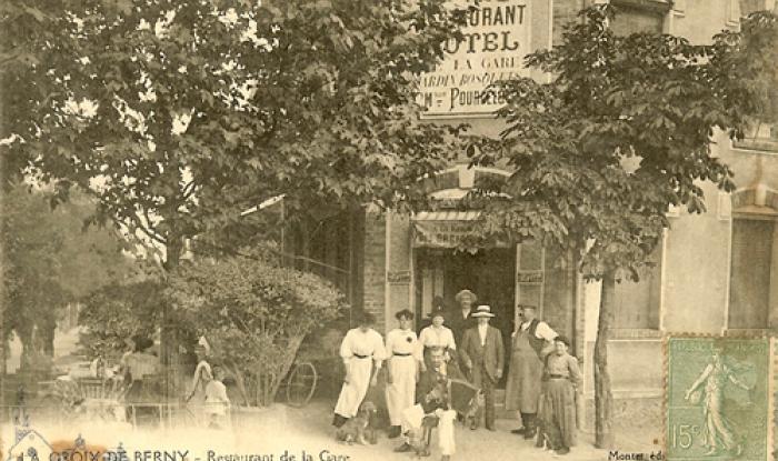 Maison Pourcelot en 1921