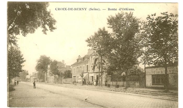 parc de berny direction paris 1918