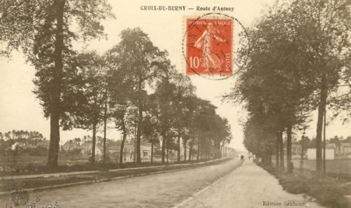 route d'antony en 1911