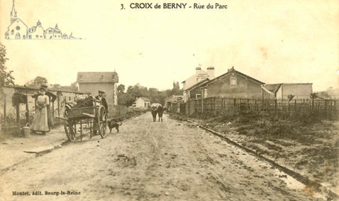 rue du parc vers 1913