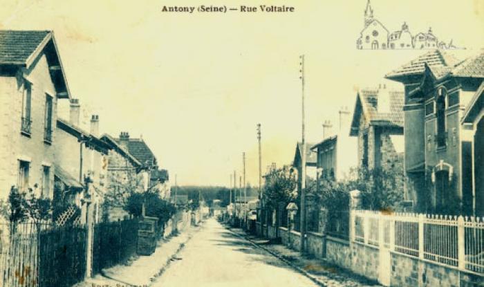 rue voltaire vers 1928
