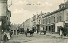 Le carrefour vers 1905