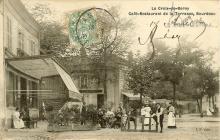 Café Bourdeau en 1907