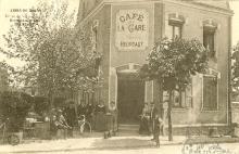 café restaurant Heurtaut en 1911