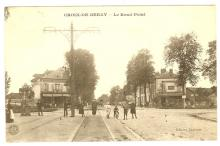 rond point de la croix de berny 1910