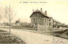 rue de berny et rue augusta vers 1905