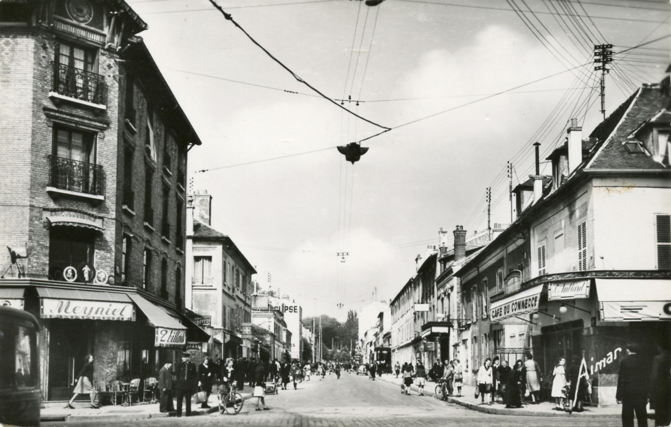 Croisement dans les années 1960