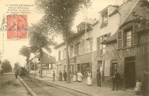 pavillon de garde de l'ancien chateau 1904